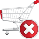 Shopping Cart Delete - icon gratuit(e) #190669