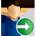 Usuário próximo - Free icon #190749