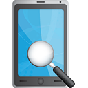 Smart Phone Search - icon gratuit(e) #190769