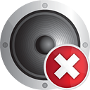 Sound Delete - icon gratuit #190779