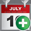 Добавить календарь - бесплатный icon #190809