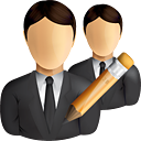 Business Users Edit - Free icon #190839