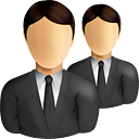 Business Users - icon gratuit #190849