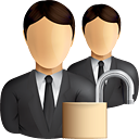 Business Users Unlock - Free icon #190859