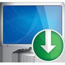 компьютер вниз - бесплатный icon #190919