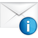 info mail - Free icon #191079