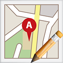 Map Edit - icon gratuit #191139