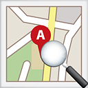 Map Search - icon gratuit #191149