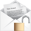 Mail Open Unlock - icon gratuit #191179