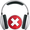 Headphones Delete - icon gratuit #191329