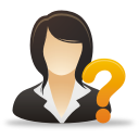 Businesswoman Help - icon gratuit #192039