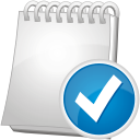 Note Accept - icon #192219 gratis