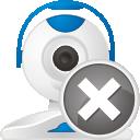 quitar de cámara web - icon #192269 gratis