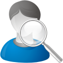 User Search - icon gratuit(e) #192309