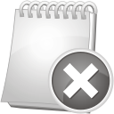 Note Remove - icon gratuit #192339