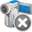 Filmadora digital remover - Free icon #192359
