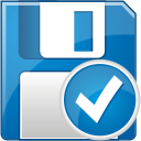 Floppy Disc Accept - icon gratuit #192439