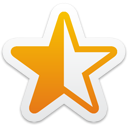 Star Half Full - icon gratuit #192809