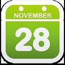Calendar - icon gratuit(e) #192839