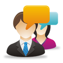 Business Male Female Users Comments - icon #193059 gratis