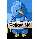 Twitter Sigueme - icon #193099 gratis