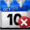 Borrar calendario - icon #193199 gratis