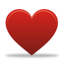 Red Heart - icon #193259 gratis