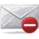 Mail Remove - icon gratuit(e) #193349