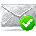 Mail Accept - icon gratuit #193369