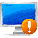 Computer Warning - icon #193389 gratis