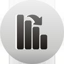gráfico abaixo - Free icon #193509