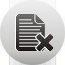 supprimer la page - icon gratuit(e) #193519