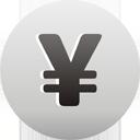знак валюты иен - бесплатный icon #193589