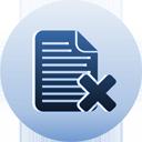 Delete Page - Free icon #193679