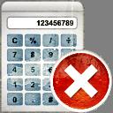 Calculator Remove - Free icon #193919