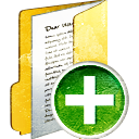 Folder Full Add - icon gratuit #194009