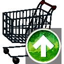 carrito de compras para arriba - icon #194169 gratis