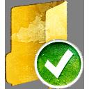aceptar la carpeta - icon #194229 gratis