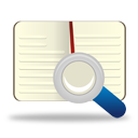 búsqueda de libros - icon #194269 gratis