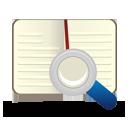 pesquisa de livros - Free icon #194269