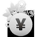 symbole monétaire yen - icon gratuit #194539