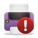Printer Warning - icon gratuit #194559