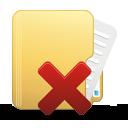 удалить папку - Free icon #194999