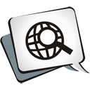 Globe Search - icon gratuit #195009