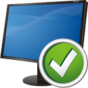 ordinateur accepte - icon gratuit #195259