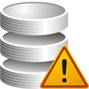 Database Warning - Free icon #195299