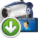 Digital Camcorder nach unten - Free icon #195309