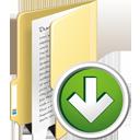 Папка вниз - бесплатный icon #195339