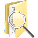 Folder Search - Free icon #195359