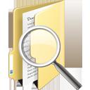 Folder Search - Free icon #195359